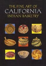 The Fine Art of California Indian Basketry-ExLibrary