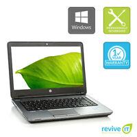HP ProBook 640 G1 Laptop i5 2-Core Min 2.60GHz 8GB 256GB SSD Win 10 Pro B v.WCA