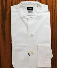 Vintage tunic shirt Austin Reed Summit size 14.5 UNUSED  Iron-cheater collarless