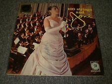 100 Strings and Joni James~Acquaviva~MGM E3755~Stereo Disc~FAST SHIPPING