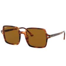Ray-Ban Feminino Fotocromático Quadrado Ii RB1973-9545753-20 Óculos de Sol Marrom