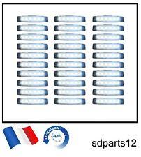 30 Blanc 24V SMD 6 Led Feux De Gabarit Camion Pour MAN DAF SCANIA VOLVO RENAULT
