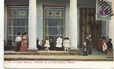 B81741 a cuban veranda corredor de una casa havana cuba front/back image