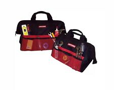 """Craftsman 13"""" & 18"""" Inch Tool Bag Combo For Hand Power Tools & Accessories - New"""