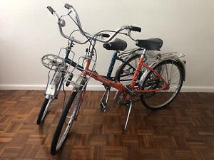 Pair Of Peugeot NS Nouveau Style Bicycles