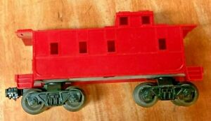 O Scale Red Caboose