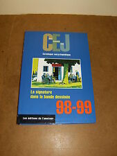 CEJ Catalogue encyclopédique (la signature dans la bande dessinée) 98-99