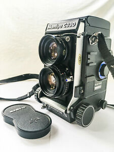 Mamiya C330 Professional S TLR Camera with Blue Dot 80mm f2.8 Lens
