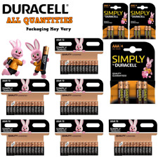 Simply Duracell AAA Batteries Pack Of 4,8,12,24 or 36