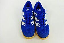 adidas casual wear cushioned Blue Vintage Trainers Mens EU 38 UK 5 Grade C AC114