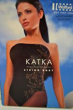 Wolford Katka Stringbody String Body Small black/gold Velvet Mix