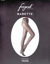 Fogal Babette 1035 Strumpfhose, Netzoptik, Blumenornament, schwarz, S=36-38