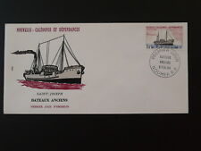 ship boat paquebot FDC New Caledonia 79786