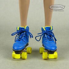 1/6 Scale Phicen, TBLeague, Flirty Girl Female Blue & Yellow Roller Skate Shoes