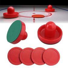 8pcs Air Hockey Table Mallet Puck Goalies Air Hockey Pucks I CL