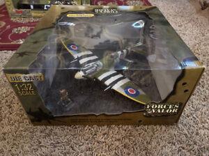 Forces of Valor 1:32 U.K. Spitfire MK IX NO.134 - 1944 Normandy - NIB—NR