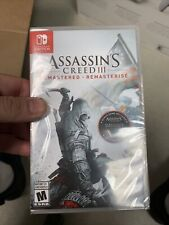 Assassin's Creed 3 / III Remastered Nintendo Switch NEW SEALED