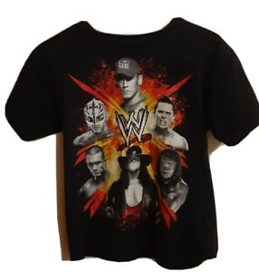 John Cena Undertaker etc Youth T-shirt New WWE wrestling Large L 36 x 24