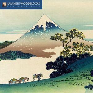Japanese Woodblocks  - 2022  MINI Calendar