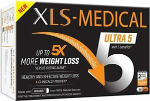 XLS-Medical Ultra 5 Weight Loss 84 Capsules - Reduce Calories Absorbed 2 Weeks