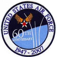 USAF 60th ANNIVERSARY PATCH, 1947-2007.                                        Y