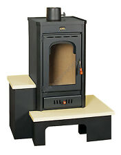 Wood Burning Stove Multi Fuel Fireplace Log Burner Solid Fuel 11kw Prity SRB