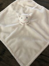 RARE Pottery Barn Kids Baby Lamb Cream Lovey Security Blanket