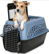 Pet Kennel Travel Carrier Topload With Two Doors- 24in/19in