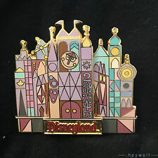 RETIRED Disney IT'S A SMALL WORLD CLASSIC CASTLE FACADE Disneyland Pin