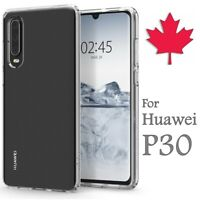 For Huawei P30 Case - Clear Thin Soft TPU Transparent Silicone Cover