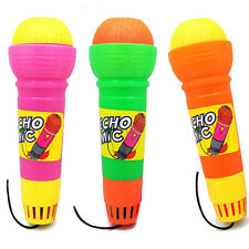 "7.5"" Toy Magic Mic Echo Microphone Speech Learning Build-in Music Kid To Pretend"