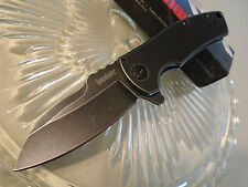 Kershaw Spline Les George Assisted Open Black Wash Pocket Knife 8Cr13MoV 3450BW