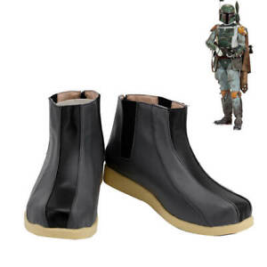Star Wars Boba Fett Shoes Cosplay Men Boots Handmade