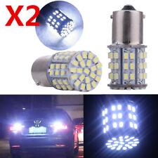 2X 1156 LED Bulb 1W 12V LED bulb For RV Car Auto 6000K Super Bright LED light