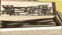 Fleischmann 6412 Konvolut 10x Flexible Zahnstange je 200 mm für H0 neuwertig,OVP