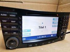 Radio Navi CD DVD Mercedes W211 Navigation E Klasse Comand Becker BE7039 DVD