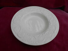 "WEDGWOOD PATRICIAN OFF WHITE RIM SOUP BOWL S 8 3/8"" OLD MARK PLAIN CREAM"