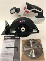 "Porter-Cable 20V 20 Volt Max PCC661 5 1/2"" Circular Saw Lithium-Ion W/BLADE R"