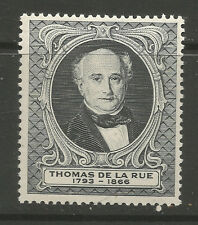 GB/UK 1955 Thomas De La Rue poster stamp/label (C)