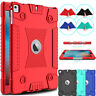 For iPad 9.7 inch 2017/2018/Air 2/5/6th Gen Silicone Case Shockproof Armor Cover