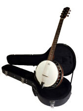 BANJOS-CLOSEOUT-NEW 6 STRING BANJO COMES WITH HIGH QUALITY HARD CASE