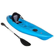 SIT ON TOP KAYAK SINGLE SEA RIVER OCEAN LAKE TOURING KAYAKS BLUE LEISURE