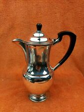 More details for vintage silver plate coffee pot garrard & co ltd