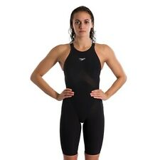 NEW — Womens 26 — Speedo Fastskin LZR Pure Valor — Open Back Kneeskin Tech Suit