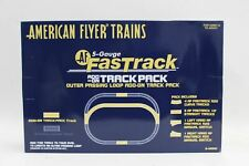 More details for american flyer s scale fastrack outer passing loop track pack 6-49990 bnib