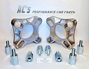 "2 x 4 Hole 32mm,11/4"" wheel Spacer Kit 3/8""unf Mini Triumph trailers ect ectSP41"