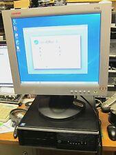 HP COMPAQ MODEL 6005 SFF PRO MINI DESKTOP WIN 7 PRO 17