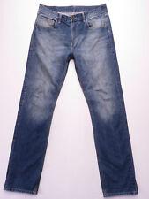 Ben Sherman The Original Hampstead Mens BLUE WASH DENIM Jeans SIZE 34 L-34 EUC