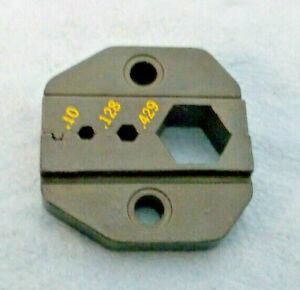 DIE for RG-8, RG-213, LMR-400, BR-400 Coax Crimp Connector, Fits Most Crimpers.