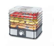 Laptronix 5 Tray Electric Food Dehydrator Fruit Dryer Meats Preserver Machine